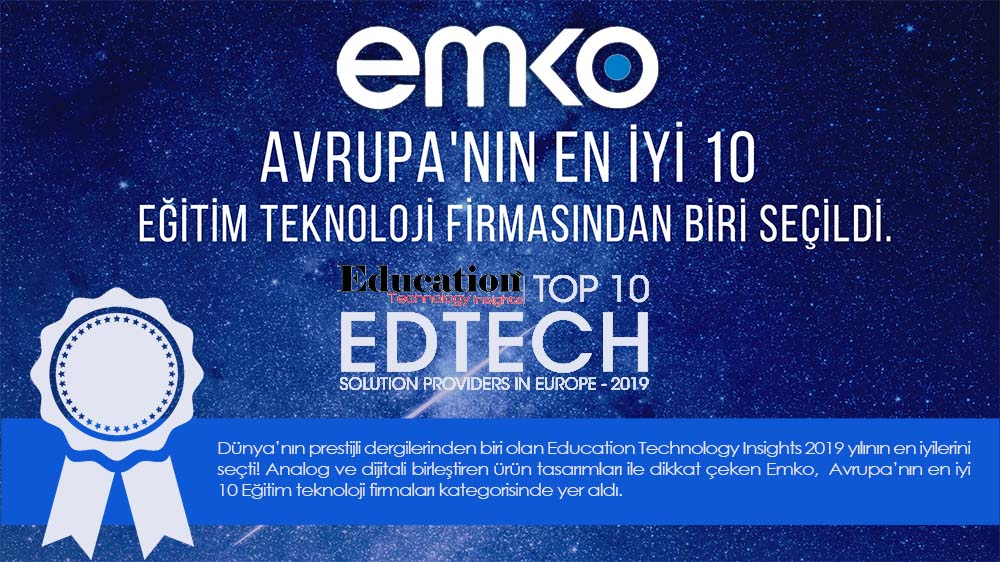 Education Technology Insights Dergisi 2019 Yılının TOP 10 Listesini Seçti
