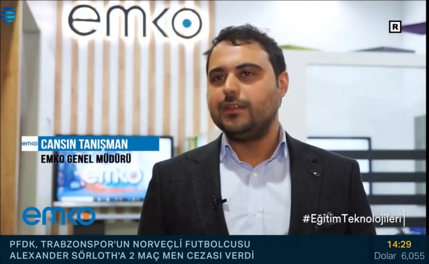 [Basında Emko] NTV Reel Sektör Emko Eğitim Teknolojileri Reklamı