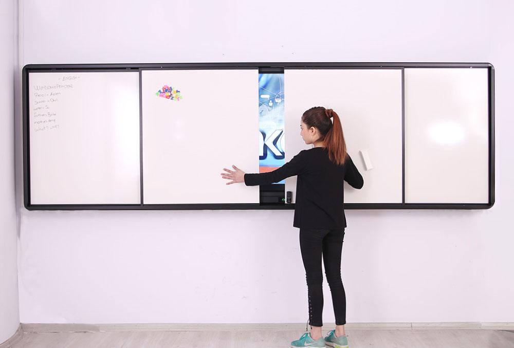 Emkotech LED hareketli tahtalar hareket ediyor