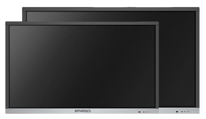 Emkotech Nova 86 inç ve 65 inç büyük ekran seçenekleriyle