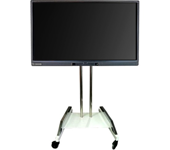 MOBILE SYSTEM FOR INTERACTIVE FLAT PANEL DISPLAY