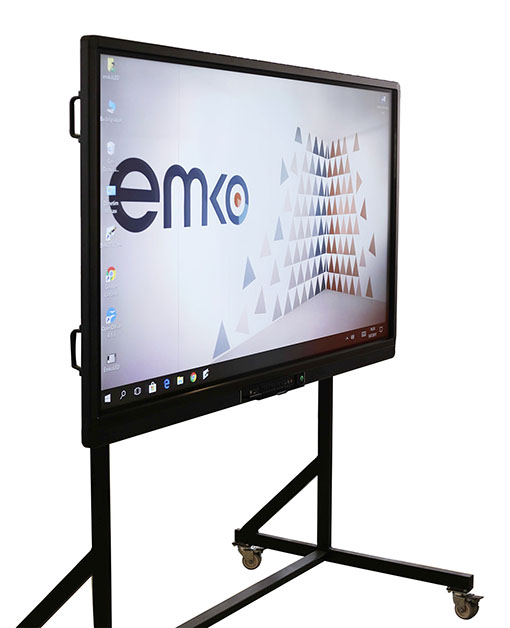 Mobile System for Emkotech Interactive Flat Panel Displays