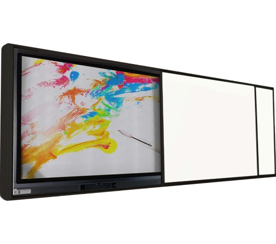 Emkotech LED Sistem Tek Sürgülü Akıllı Tahta