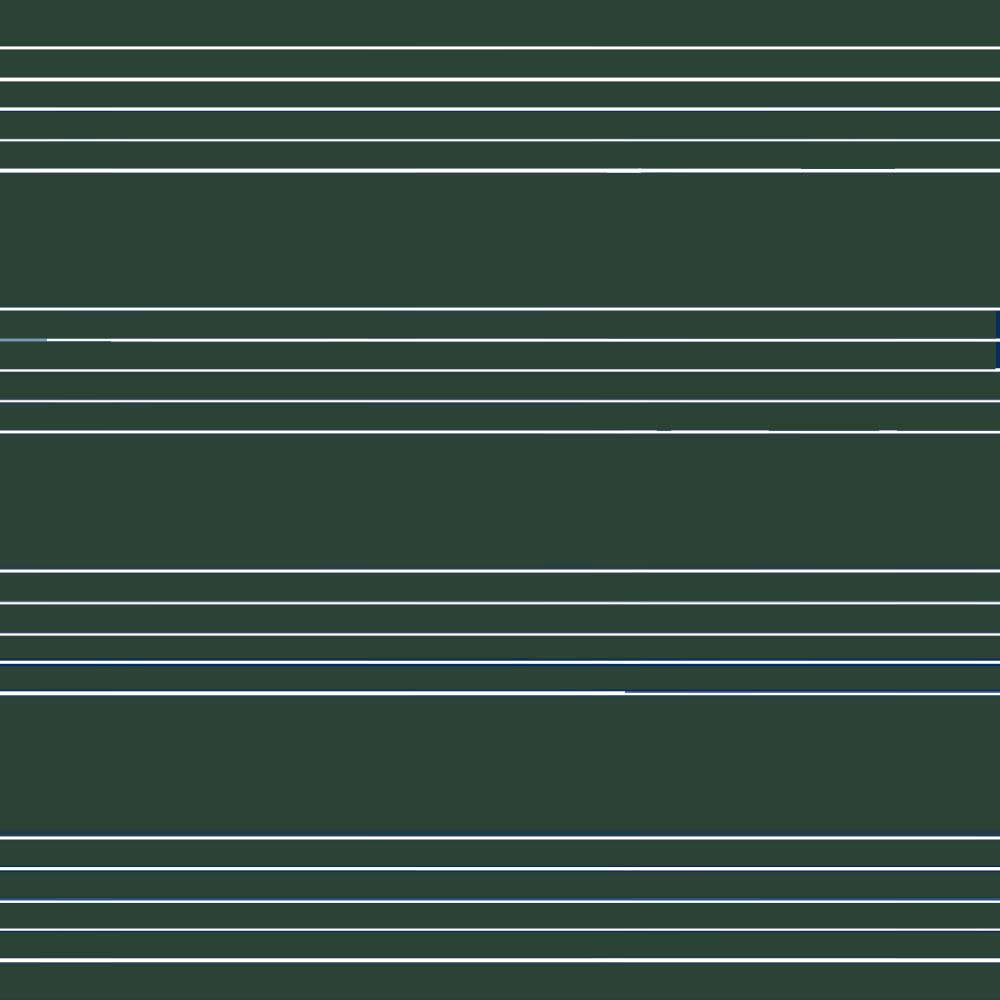 Yeşil Emaye - Müzik Çizgili Yüzey