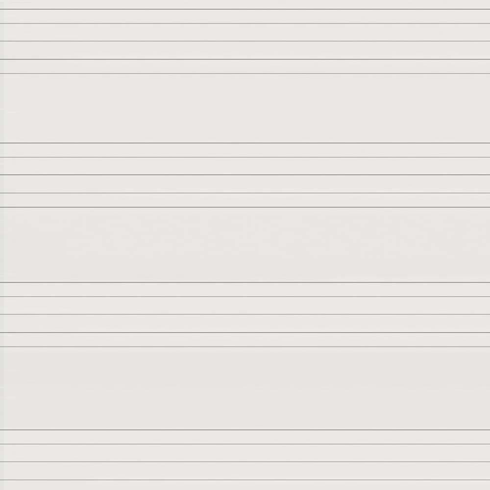 Beyaz Emaye - Müzik Çizgili Yüzey