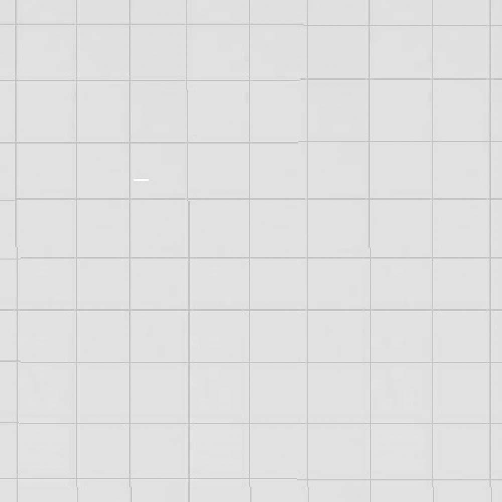 Beyaz Emaye - Kareli Yüzey